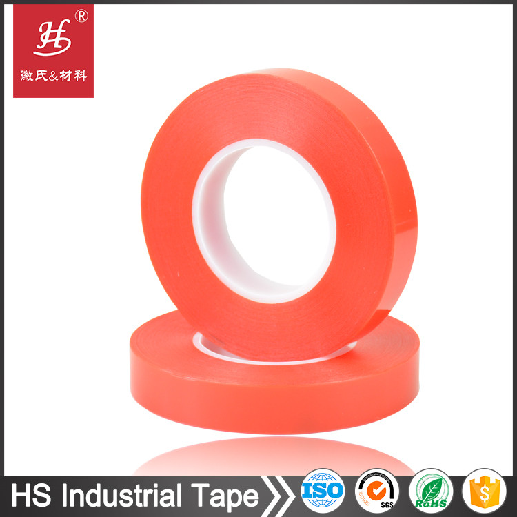 ISO SGS Certified Clear PET 1/4 inch double sided adhesive tapes
