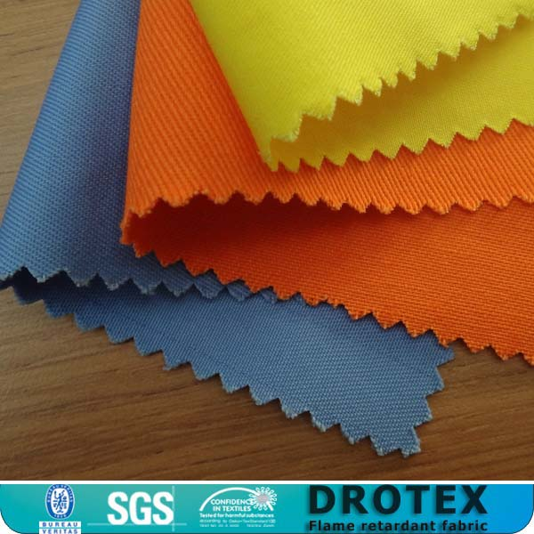 High quality 300gsm twill fire proof cloth waterproof cloth / workwear