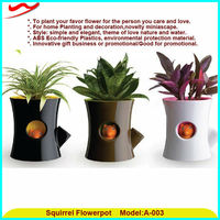 Watering convenient idea innovative flower pot molds