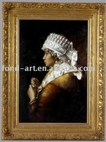 3203 Framed Portrait Oil Painting
