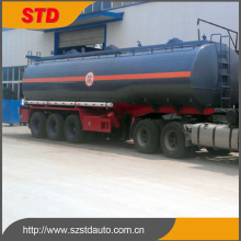 Heavy duty 44 tons liquid NAOH tanker trailer for sale