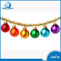 2016 Wholesale Selling Colorful Christmas balls christmas window decorations