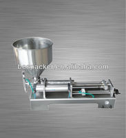 Semi-auto Cosmetic /toothpaste/pharmaceutics/food paste filling machine with Heater and Mixer