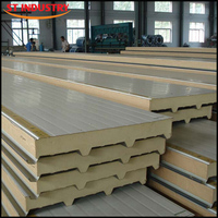 Heat resistant insulated fast assembly house prefabricated sandwich panel prices