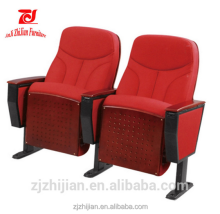2016 cheap used cinema chairs for sale 3d movie hall chair with writting-pad