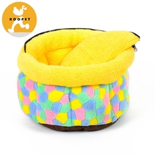 Dog Round Pet Bed Paw Shape Pet Bed For Dogs