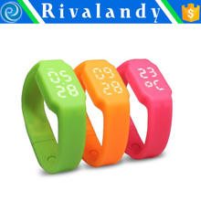 silicon 3d bracelet pedometer pedometer bracelet watch smart wristband watch digital 3d bracelet pedometer