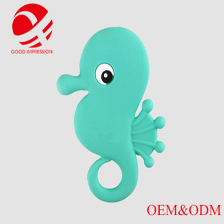 Food grade silicone teether baby educational sensory toys adult teether