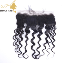 ali <strong>express</strong> Virgin Brazilian human Loose Wave hair 13*4 lace frontal top quality brazilian hair