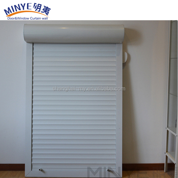 Security And Convenient Aluminum Garage Door Roller Shutter For