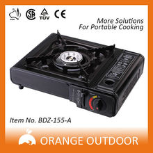 street price piezo-electric two india burner gas cooker with glass top