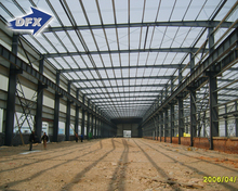 Multi-storey Prefabricated Steel Frame Warehouse Drawing