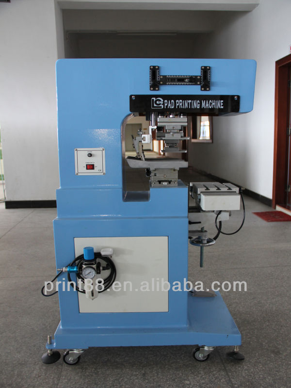 2-color Independent up/down stroke pad printing machine