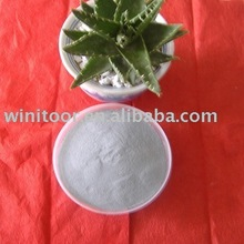Densified white micro silica fume for cement