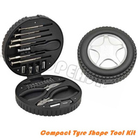 24PCS Tire Shape Hand Tool Set Made in China