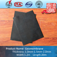 EPDM rubber waterproof membrane for roof