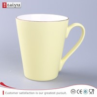 Eco-friendly ceramic mug with merry christmas design