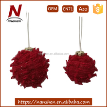 polyester new design pom pom ball pon for party decoration