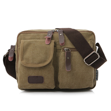 high quality shopping websites canvas side bag men messenger cross body shoulder bag