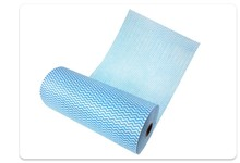 High Quality fast drying deep cleaning non woven white cotton wiping rags