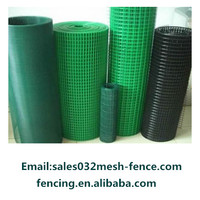 "1/2"" x 1/2"" PVC welded wire mesh with lower price"