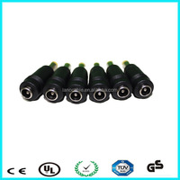 RoHS 12v dc plug 3.5*1.35mm male dc connector