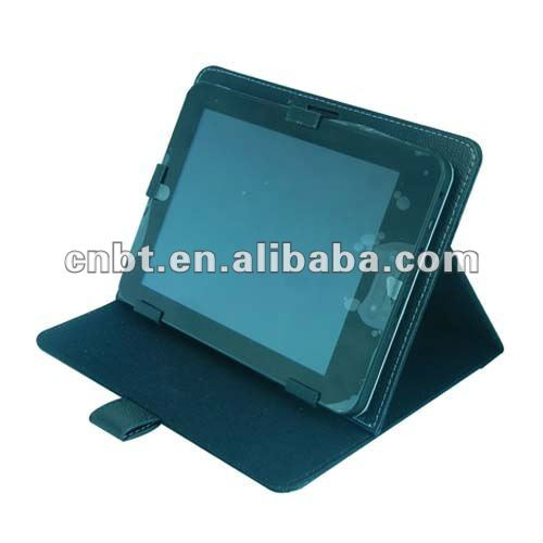 Leather case with for 10.2 tablet pc leather case with keyboard for all 7 inch MID