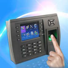 TFT color screen Biometric fingerprint time attendance terminal with TCP/IP and USB