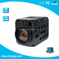 22x 27x 30x optical zoom cctv analog ptz camera module