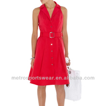 Women Smart Casual Shirt Dress