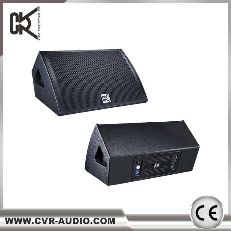15 inch stage floor powered active monitor speaker