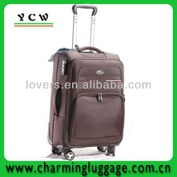 factory wholesale trolley travel luggage set