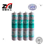 Acid Silicone Structural Adhesive