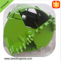 For Piling Machine drilling rig Caulked Rock soil Drilling Bucket earth hole digger