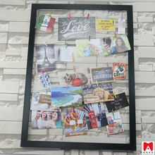Wall decor shabby chic MDF Wood PS Plastic frame with string for 20P <strong>Pictures</strong>
