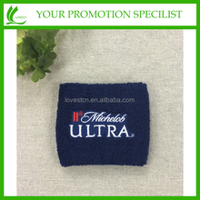 OEM Designed Custom Embroidered Sport Wristband