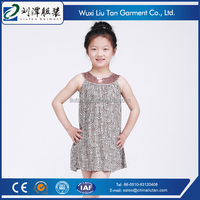 overseas children baby party wear dresses clothing