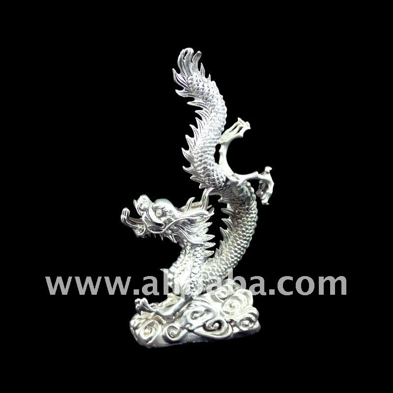 Gorgeous Dragon Fengshui Pewter Premium Gifts