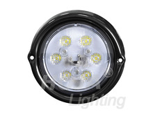 LED Work Light 12-30V round fog light for truck