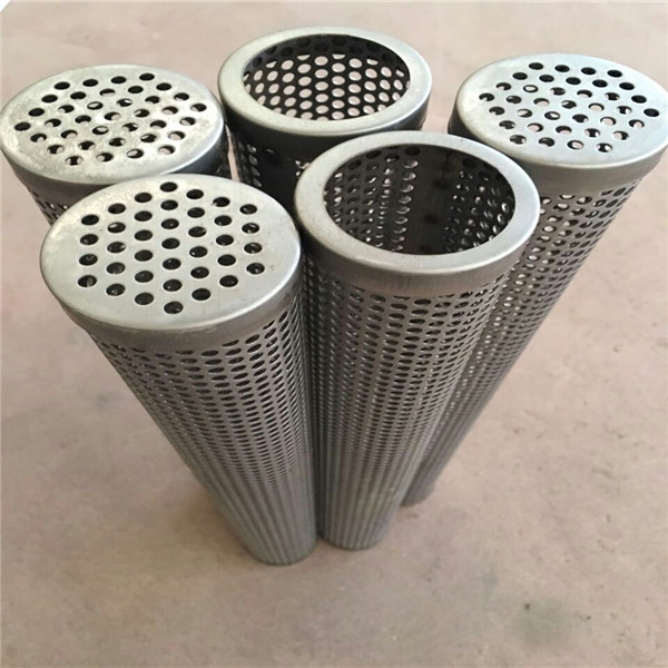 Stainless steel perforated metal tube for BBQ