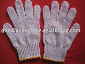 knitted work glove