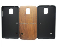 PC bamboo wood cell phone case for Samsung galaxy S5