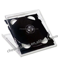 14mm ps plastic 3disc CD Slim jewel box/case