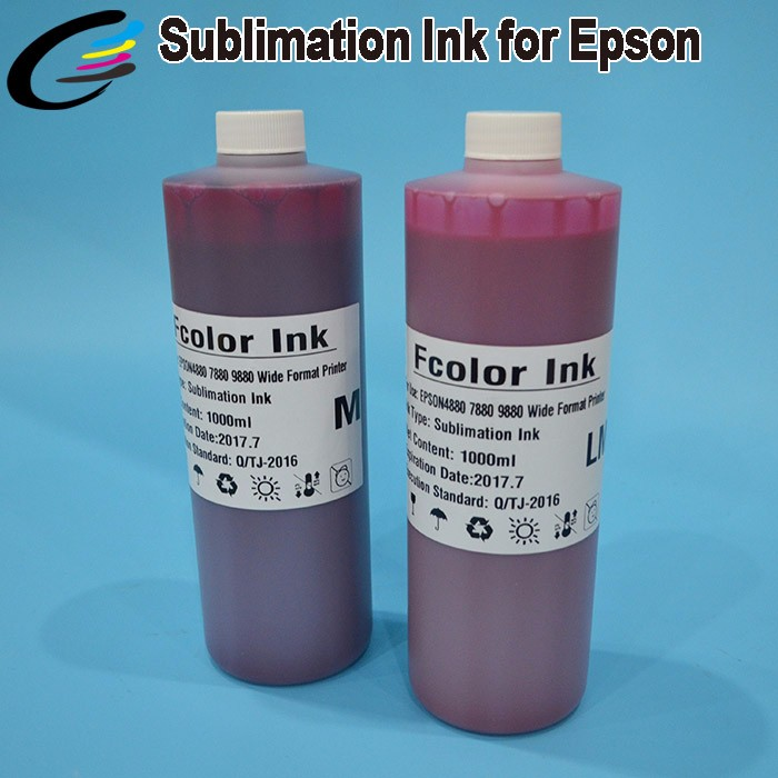 Wide Color Textile Ink Dye Sublimation Ink for Epson Stylus Pro 9600 7600 4000