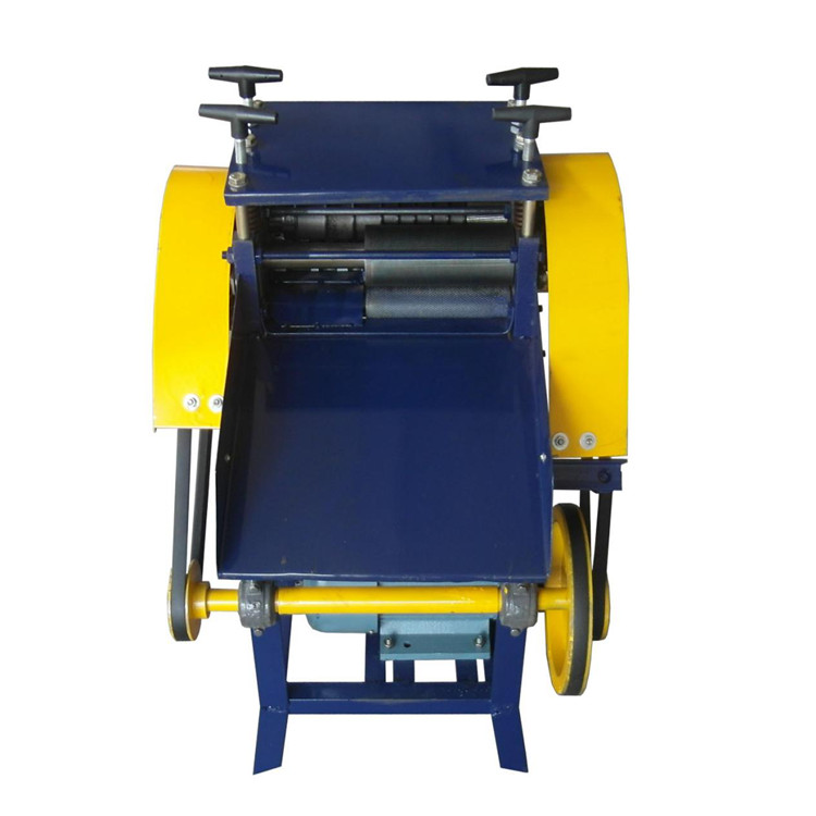 copper wire recycle cable wire stripping machines/coaxial cable stripping machine /electrical cable making equipment man