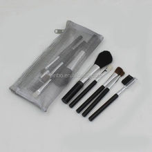 Private Label Cosmetic Makeup Brush Set With Mesh Bag