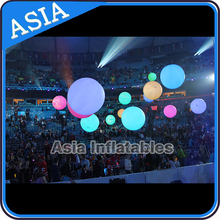 Pretty Decoration Inflatable LED Ball, Solar LED Ball Light Outdoor, Pretty Large LED Balloons