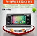 HIFIMAX Android 5.1.1 Double Din Radio TV Tuner for BMW X5 E53 car radio dvd gps navigation system for BMW 5-E39/BMW X5-E53