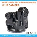 High Quality Wireless 6 LED IP Network WIFI Mini Spy Nanny Camera For Android Iphone