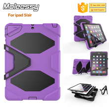 Factory wholesale shockproof for iPad Air rugged silicone case for iPad 5 kids proof case cover